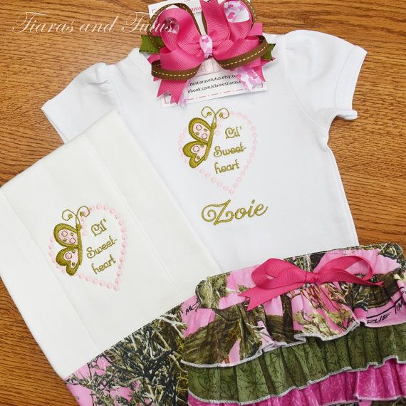 Pinterest personalized baby gifts pink camo baby gift by elainestiarasntutus negle Image collections