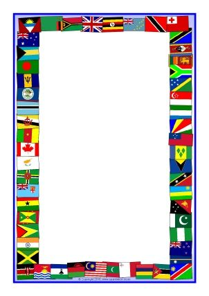 editable flag frame free download School Pinterest Page