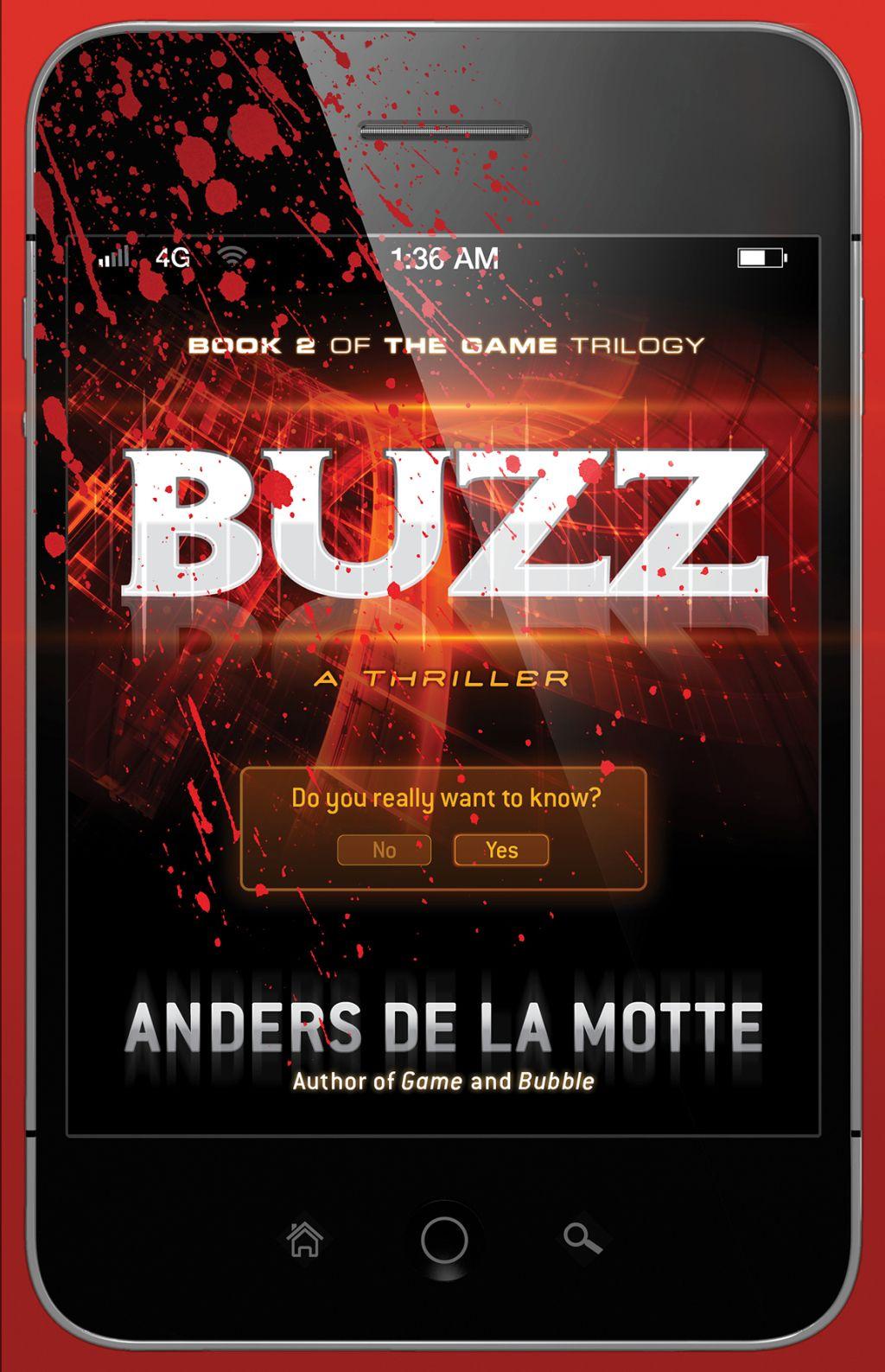 Buzz Ebook Thriller Alternate Reality Game