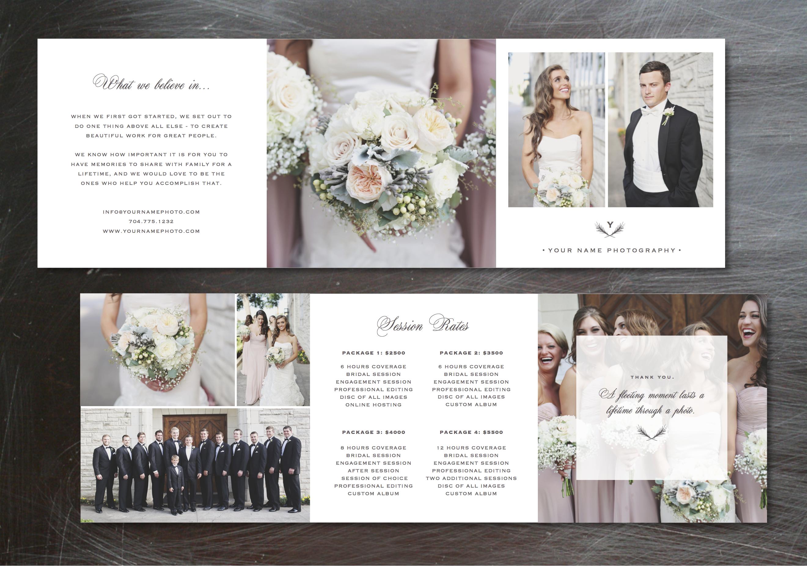 Wedding Photography Marketing Templates   Template, Photographers ...