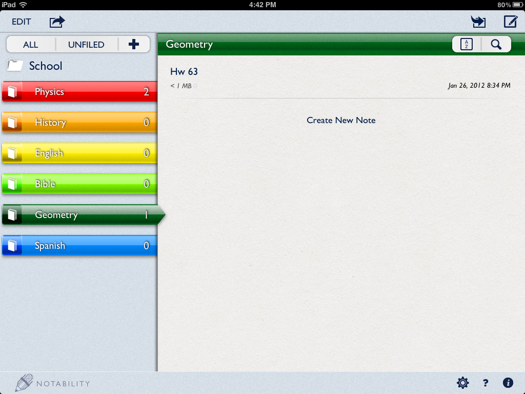 Take Note of Notability! Digital literacy, Notes, Word study