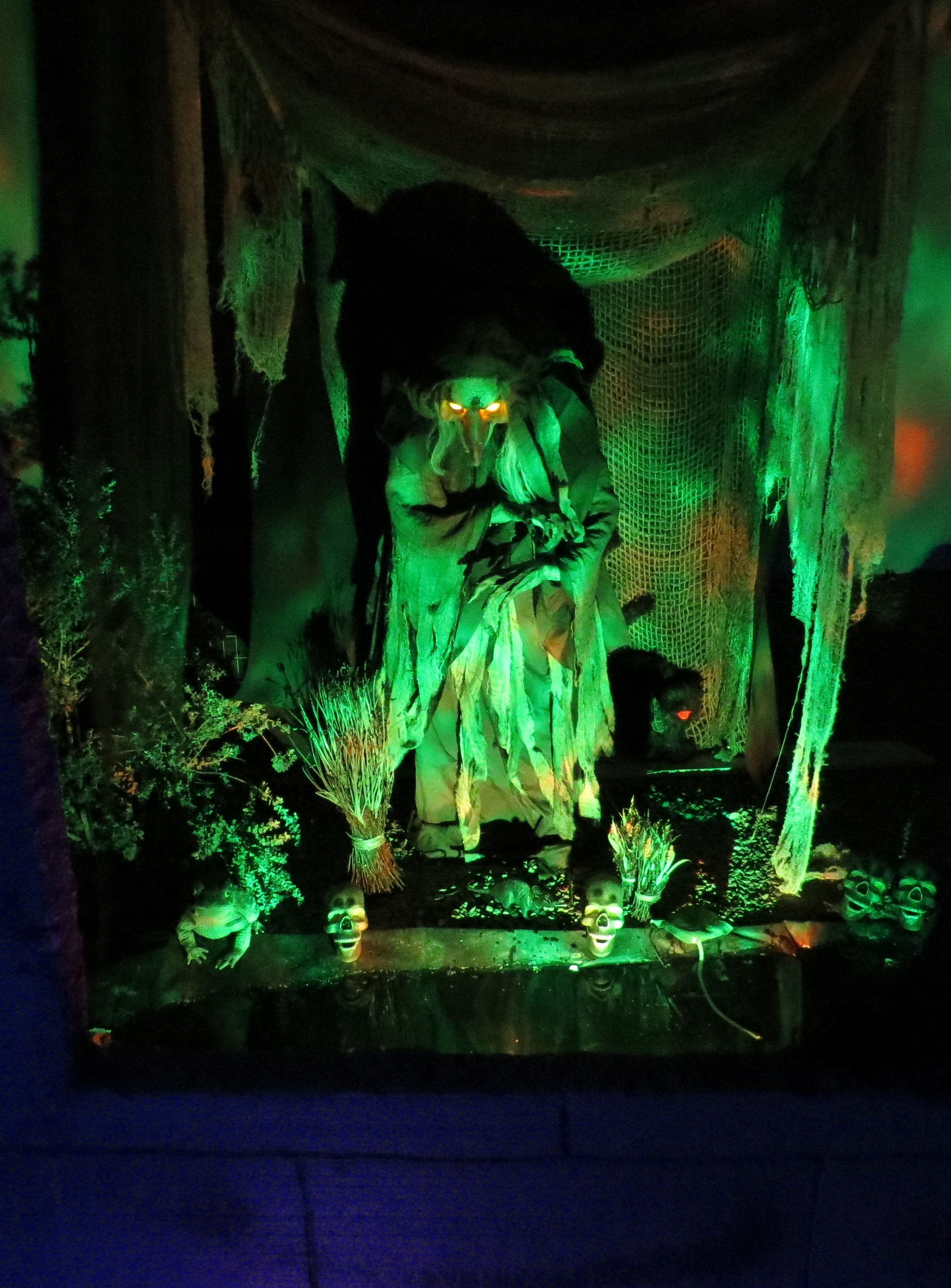 Swamp Hag Rising Halloween 2014 Halloween Outside