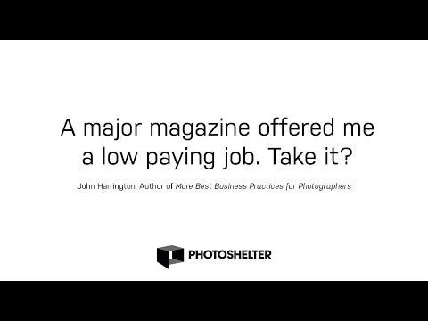 Should I Turn Down Low Paying Work from a Major Magazine?