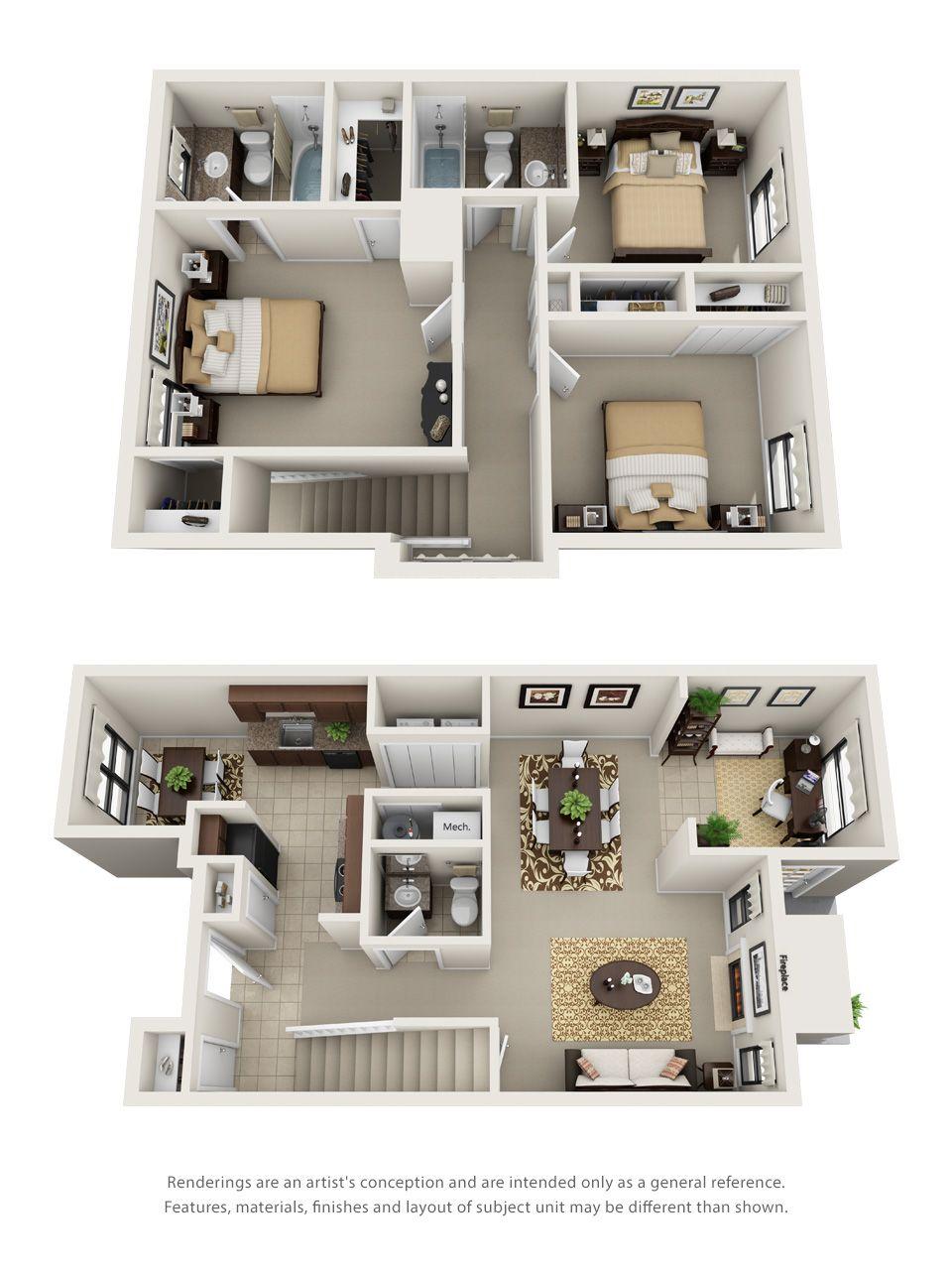1 2 3 Bedroom Apartments In Hoover Al Floor Plans Hoover Alabama Apartment Steadfast Apartment Layout One Bedroom House Apartment Design