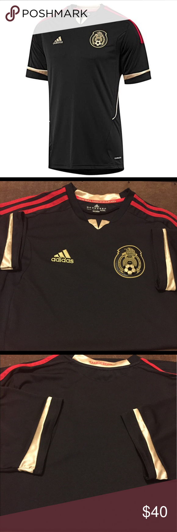 Adidas Men's Mexico Away Soccer Jersey 2011-2012 Used mint condition. Little wear size XL Adidas Tops Tees - Short Sleeve