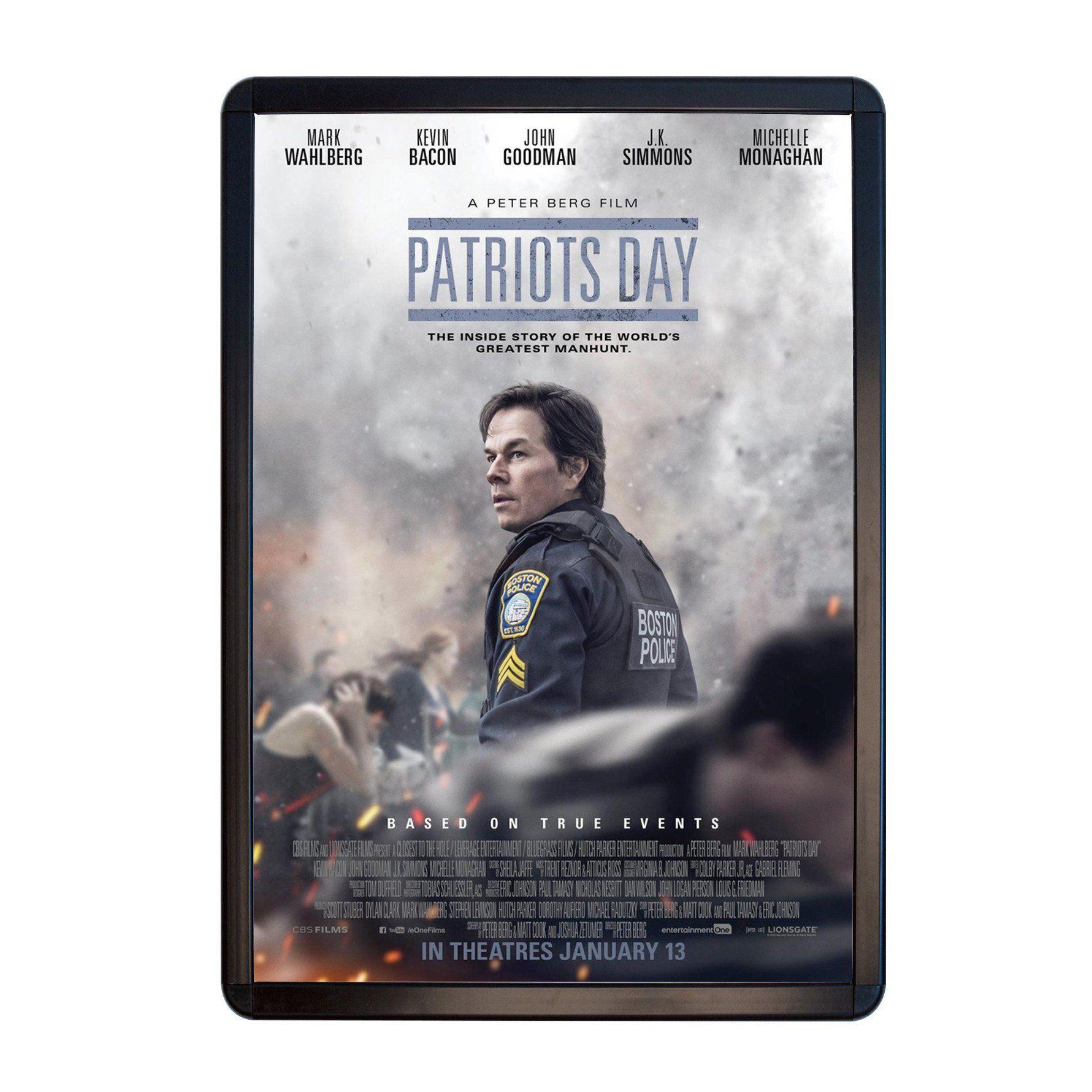 Black radial, round-corner movie poster frame poster size 27X40 ...