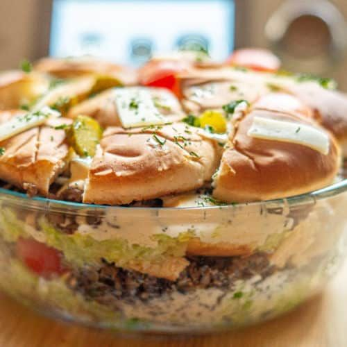 Big Mac Salat aus dem Thermomix® • will-mixen.de
