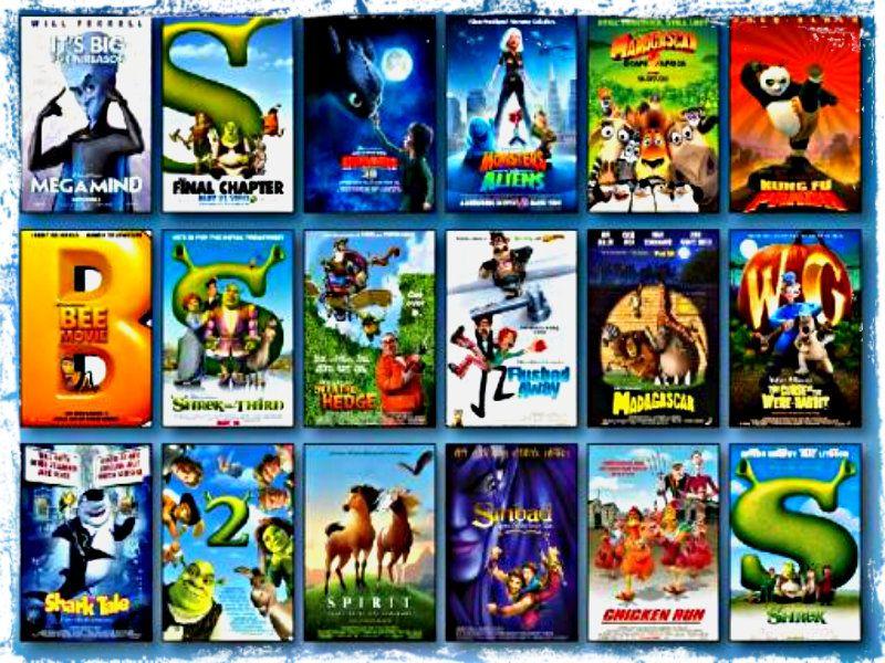 Dreamworks films