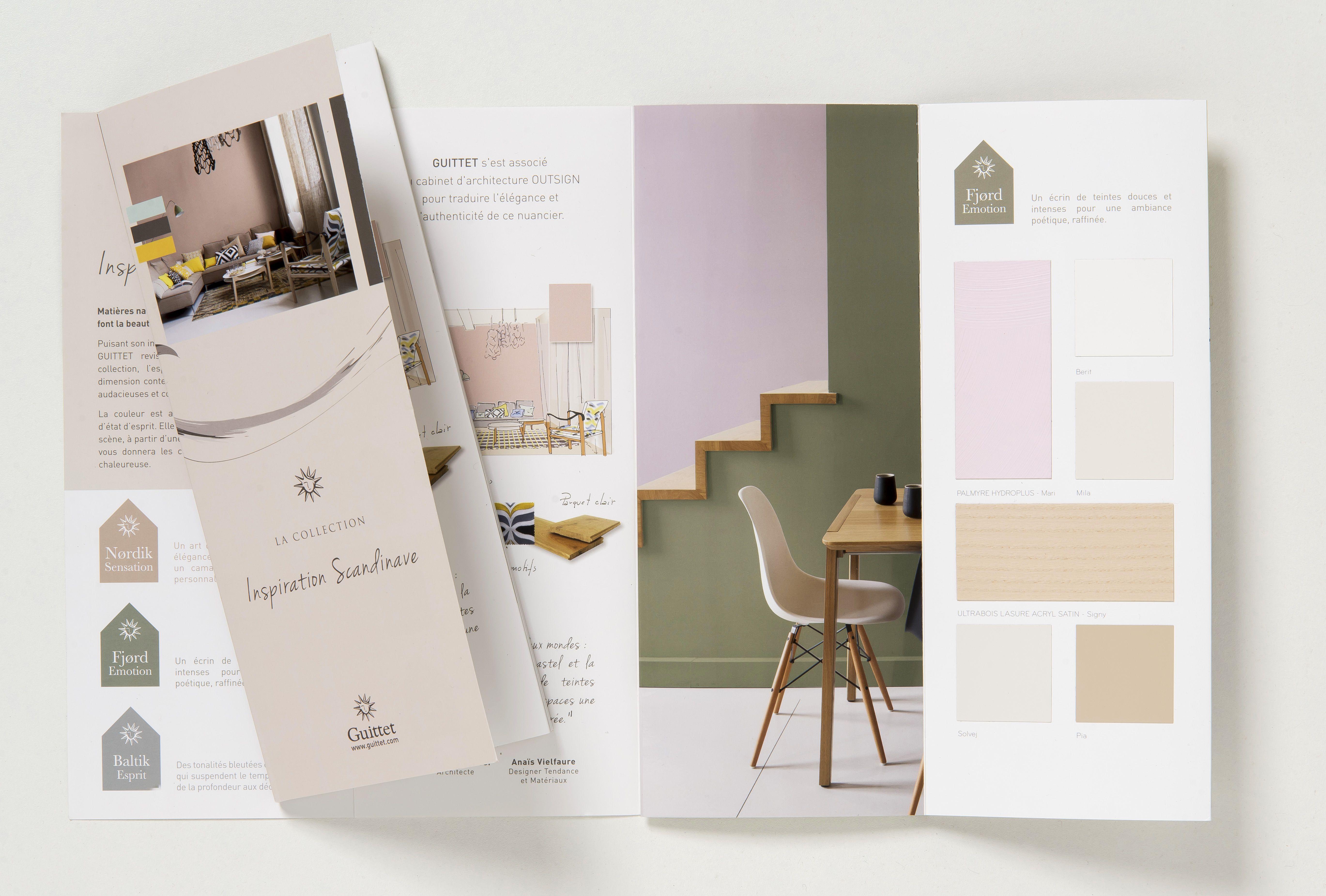 nuancier collection inspiration scandinave de guittet une. Black Bedroom Furniture Sets. Home Design Ideas