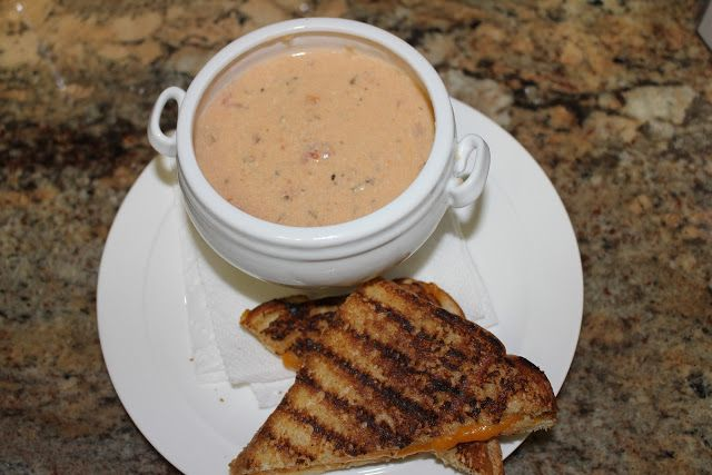 Simply Made...with Love: tomato-basil-parmesan-soup