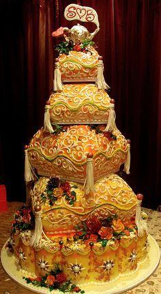 Gâteaux De Mariage Marocain Ornement Oreillers Marocains