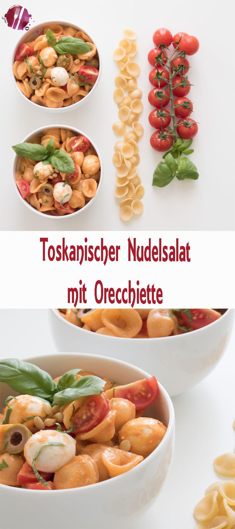 toskanischer pasta salat mit orecchiette essen trinken pinterest pasta salat salat und. Black Bedroom Furniture Sets. Home Design Ideas