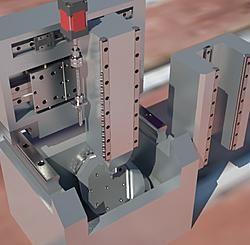 Build Thready Tiny 5 Axis Mill 5 Axis Cnc Maker Shop Diy