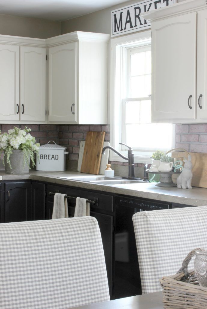 2017 cottage style spring home tour refacing kitchen cabinets modern kitchen cabinets on kitchen cabinets refacing id=37191