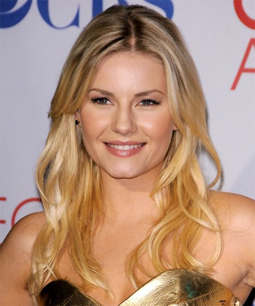 Casual Hairstyles Fascinating Elisha Cuthbert Long Straight Casual Hairstyle  Medium Blonde