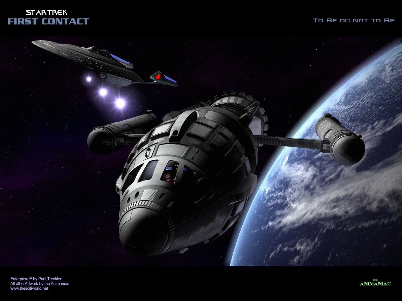 Download Star Trek Movies Wallpaper Star Trek First Contact