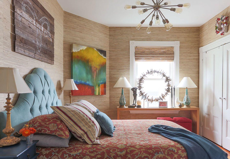 Grass Roots in the Guest Bedroom Phillip Jeffries
