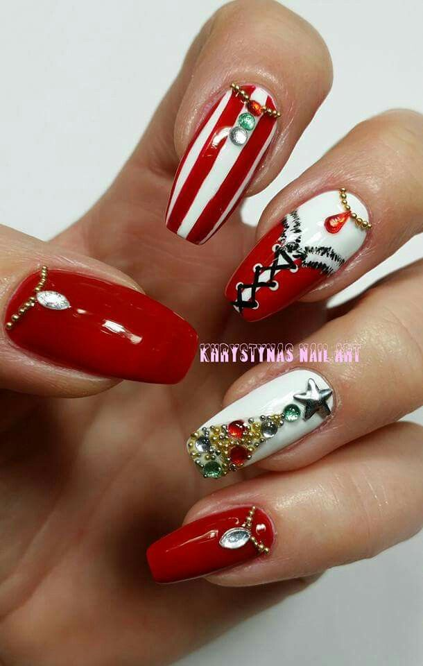 Christmas Nail Art Ideas ☆ #ChristmasNails #Christmas #Nails ...