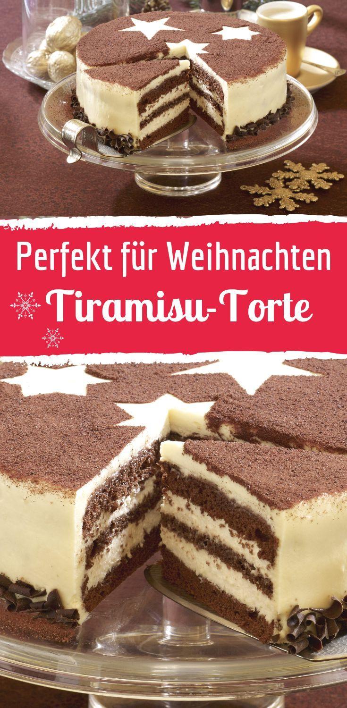 Festliche Schoko-Tiramisu-Torte