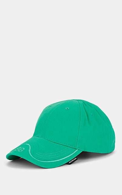 3f30c7fa Balenciaga Men's BB-Logo Cotton Twill Baseball Cap - Green in 2019 ...