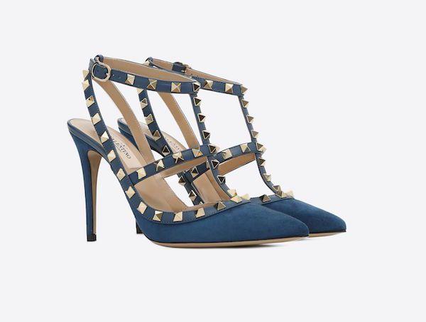Y Azul Catálogo Otoño Invierno Valentino Zapatos 2018 pwwYaq