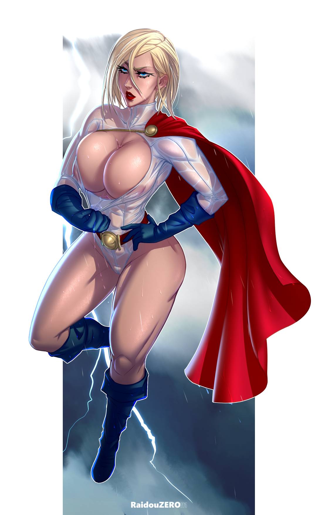 Power girl sexy