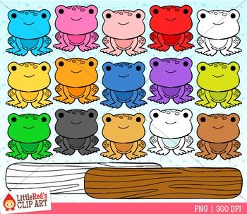 Rainbow Frogs Counter Clipart Clip Art Rainbow Frog
