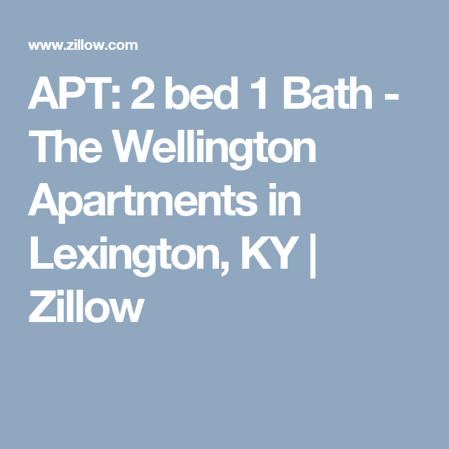3 Bedroom Apartments Zillow: 3312 Keithshire Way #2 Bed 1 Bath, Lexington, KY 40503