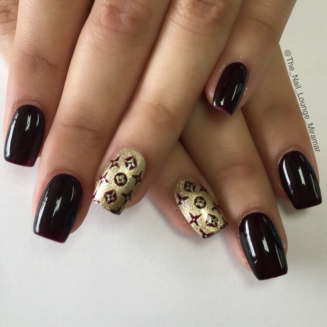 Luxury Louis Vuitton nail art | Nail Art | Pinterest | Louis vuitton ...