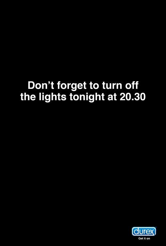 [Durex] Earth Hour