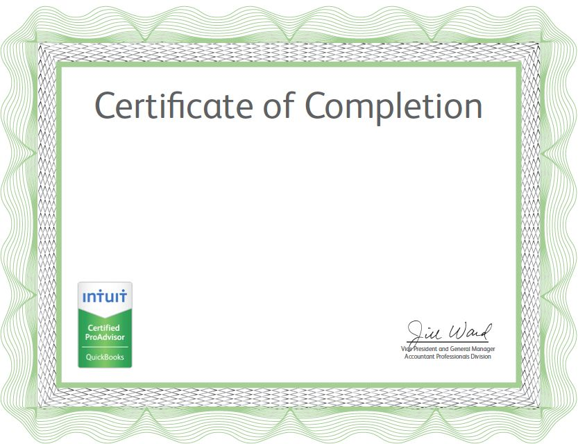 QuickBooks Certification Exam - Yay me! | Certified Public ...