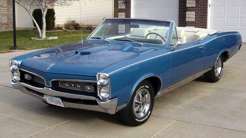 1967 Pontiac GTO Convertible | S187 | Indianapolis 2008 | Mecum Auctions