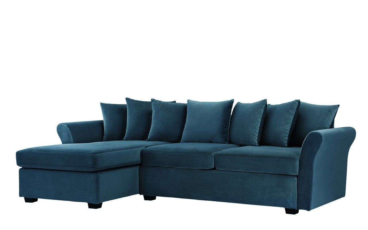 Sanders 97 Left Hand Facing Sectional Velvet Sectional Sectional Sofa With Chaise Sectional Sofa
