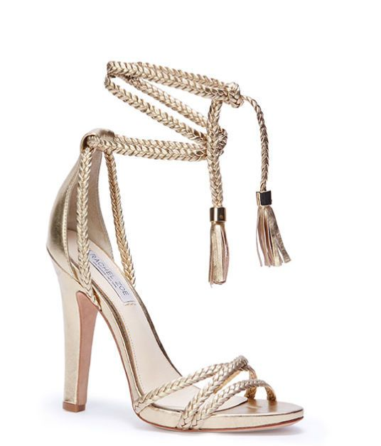 a2e98056049d Rachel Zoe Odette Lace-Up Heeled Sandals