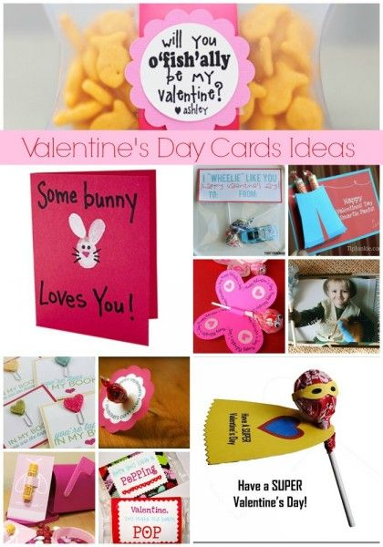 15 DIY Valentine Cards for Kids – Creative Valentine Cards for School
