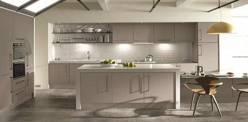 Acrylic Made To Measure High Gloss Kitchen Doors From Sincerely