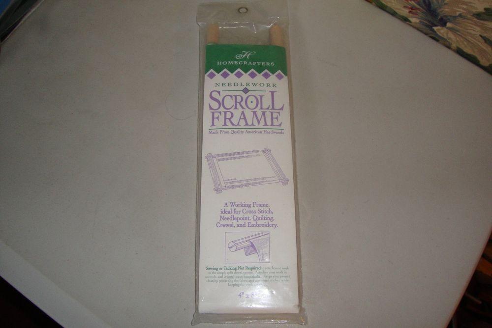 Homecrafters Needlework Scroll Frame 4\