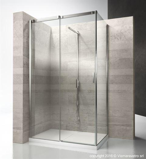Aquaglass 900mm Corner Entry Shower Cubicle Sliding Doors Bathroom Shower Enclosures Bathroom Shower Doors Shower Cubicles