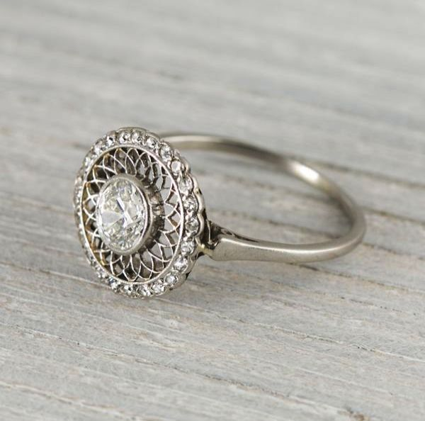 Now That S Neat Vintage Engagement Rings Uk Etsy