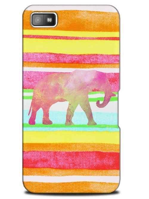 Hipster African Tribal Aztec Elephant Case Cover Design for Blackberry