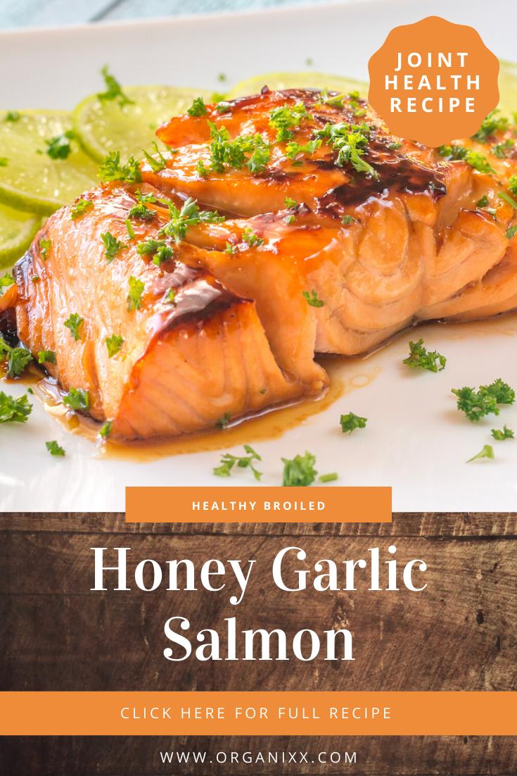 Broiled Honey Garlic Salmon Recipe Honey Garlic Salmon Garlic Salmon Honey Garlic