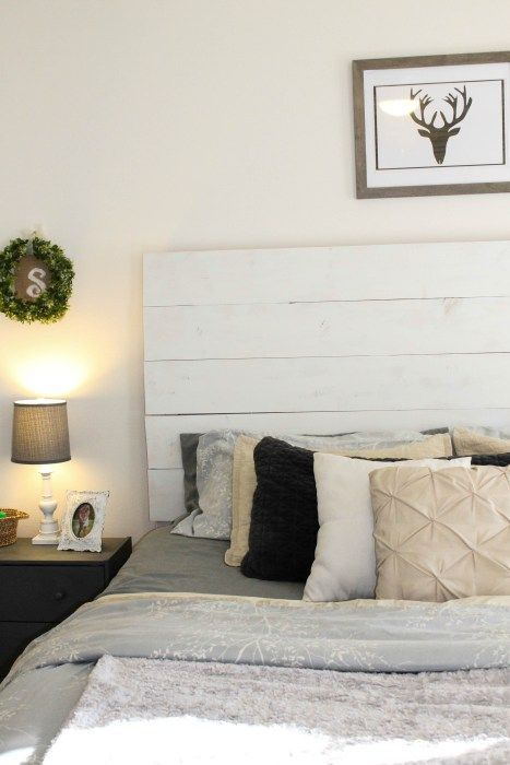 Farmhouse Wood Headboard Diy Wood Headboard White Wood