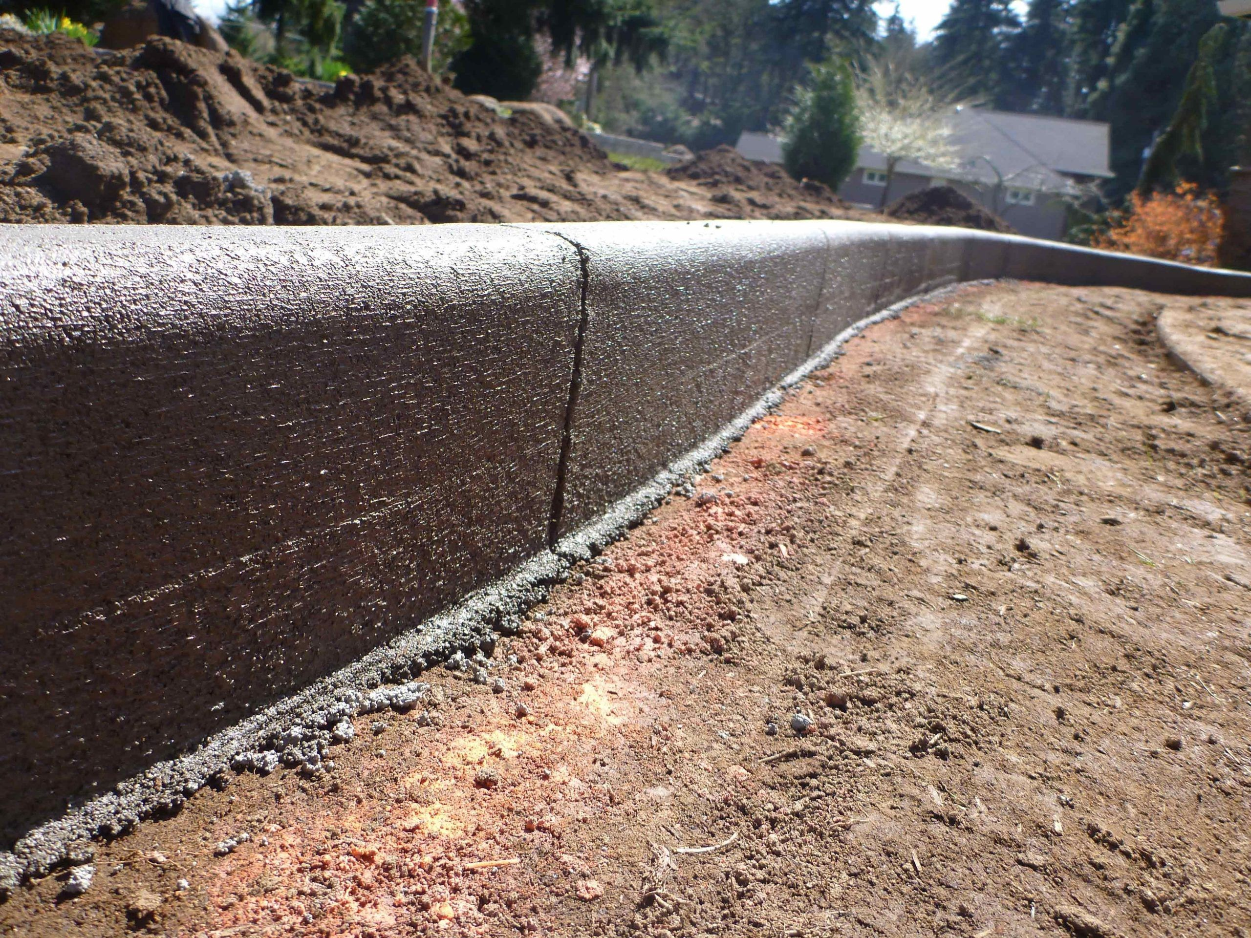 Beauty of Diy Concrete Landscape Edging#beauty #concrete # ...