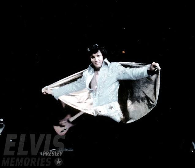 """Elvis leaving the building after his afternoon show at New York """"Madison Square Garden"""" June 10,  1972..."""