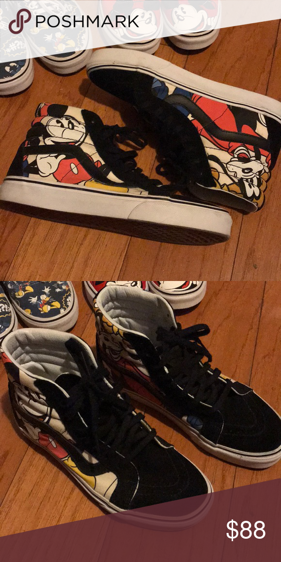 3f949122d646c5 Vans X Disney Sk8-Hi Limited Edition. Used 1-2 x