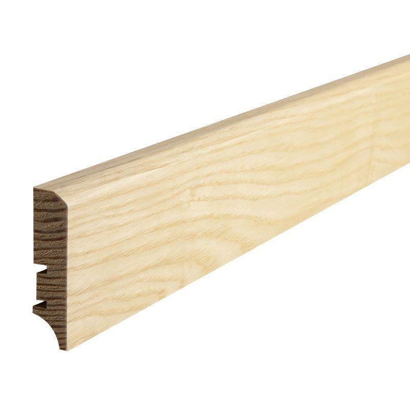 Nye gulvsokler rammer inn og gjør ethvert rom elegant! Dette er en flott sokkel i trefinér