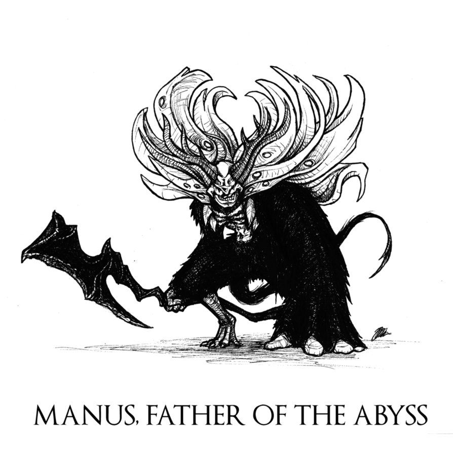 dark souls manus father of the abyss by skinrarb on