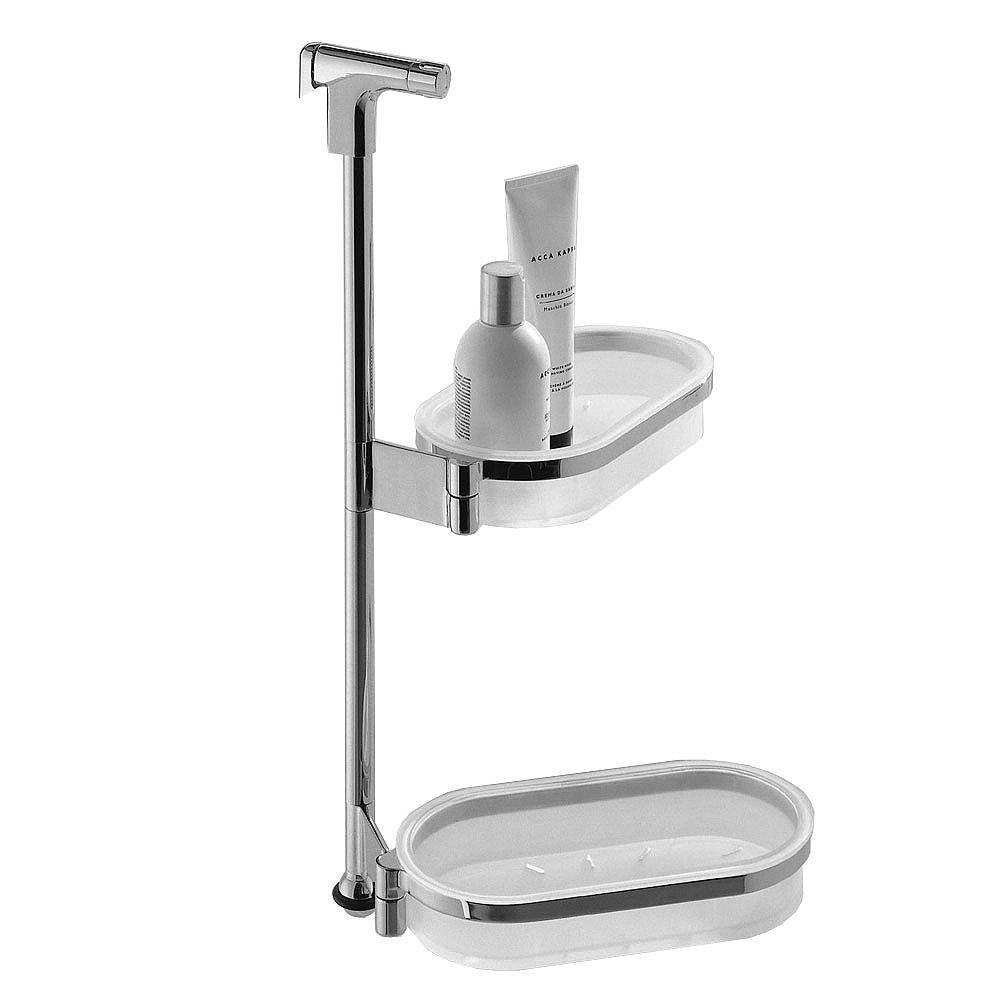 Peachy Colombo Gipsy Removable Double Shower Basket Bathroom Home Remodeling Inspirations Basidirectenergyitoicom