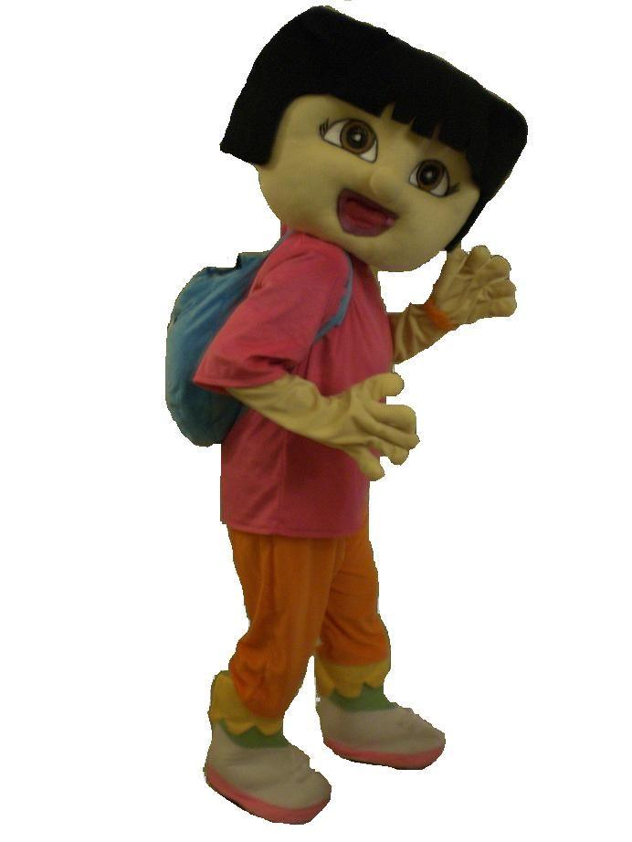 Roblox Dora The Explorer Outfit Talking Dora The Explorer Mascot Costume Hire Mascot Costumes Mascot Costume Hire