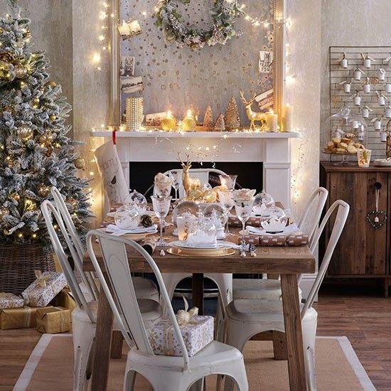 Schön Elegant Esszimmer Wohnideen Möbel Dekoration Decoration Living Idea  Interiors Home Dining Room Gold Und Weiße